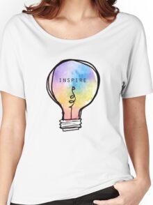Inspire lightbulb Women's Relaxed Fit T-Shirt