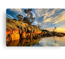 Bay of Fires. Sunrise.  Canvas Print