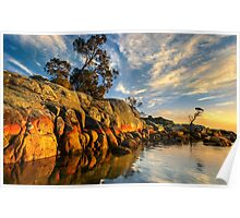 Bay of Fires. Sunrise.  Poster