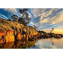 Bay of Fires. Sunrise.  Photographic Print