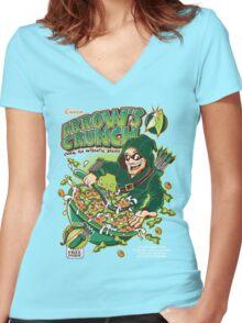 ARROW´S CRUNCH Women's Fitted V-Neck T-Shirt