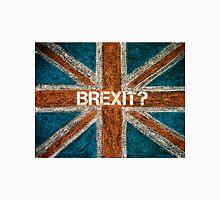 BREXIT concept over British Union Jack flag Unisex T-Shirt