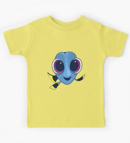Baby Dory Blue Tang Design Kids Tee