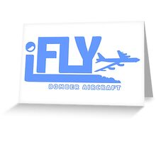 iFLY Bomber Greeting Card