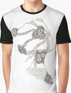 Waterfall Girl Graphic T-Shirt