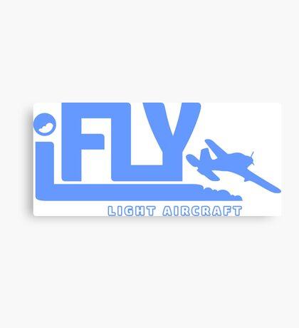 iFLY Light Aircraft Canvas Print