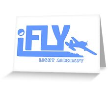 iFLY Light Aircraft Greeting Card