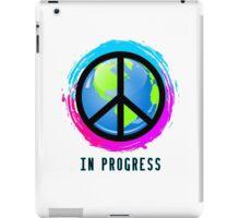 Peace In Progress iPad Case/Skin