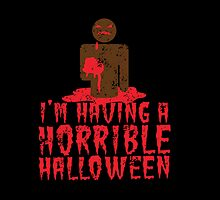 I'm having a HORRIBLE HALLOWEEN with zombie guy distressed by jazzydevil