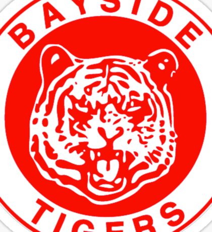 Bayside  Tigers - Saved by the Bell Sticker