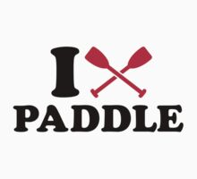 I love paddle by Designzz
