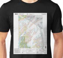 USGS TOPO Map Alaska AK Cordova C-4 355183 2000 63360 Unisex T-Shirt