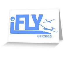 iFLY Gliders Greeting Card