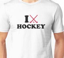 I love Field hockey Unisex T-Shirt