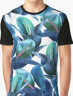 Rubber Plant #redbubble #lifestyle Graphic T-Shirt