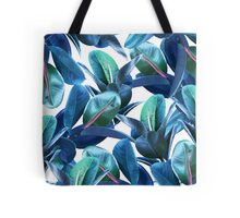 Rubber Plant #redbubble #lifestyle Tote Bag