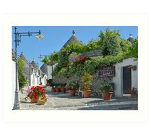 Trulli village Alberobello - Apulia - Italy Art Print