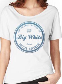 Big White Ski Resot British Columbia Women's Relaxed Fit T-Shirt