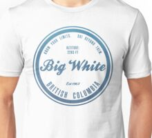 Big White Ski Resot British Columbia Unisex T-Shirt