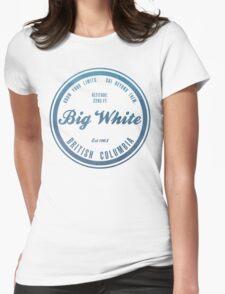 Big White Ski Resot British Columbia Womens Fitted T-Shirt