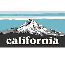 Blue California Photographic Print