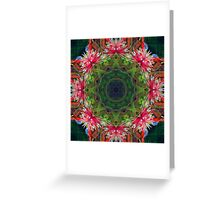Flutterby faery circle Greeting Card