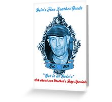 Get it at Gein's Greeting Card