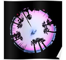 Planet Palm Trees - Cool breeze Poster