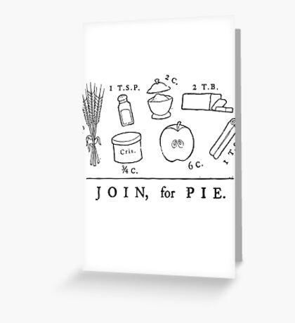 Revolutionary Recipe Greeting Card