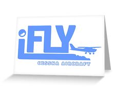 iFLY Cessna Aircraft Greeting Card
