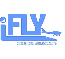 iFLY Cessna Aircraft Photographic Print
