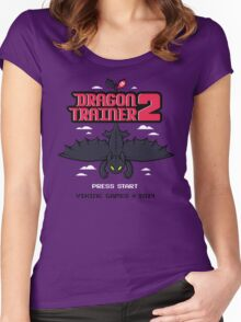 DRAGON TRAINER 2 Women's Fitted Scoop T-Shirt