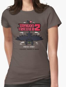 DRAGON TRAINER 2 Womens Fitted T-Shirt