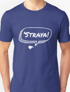 Kiwi in Straya - White Unisex T-Shirt