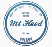 Mt Hood Ski Resort Oregon Baby Tee