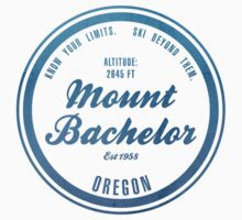 Mount Bachelor Ski Resort Oregon One Piece - Short Sleeve