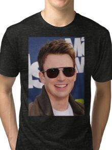 chris evans lookin cool Tri-blend T-Shirt