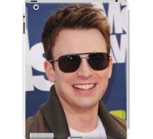 chris evans lookin cool iPad Case/Skin