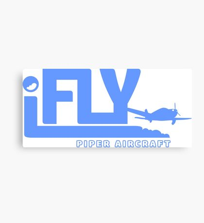 iFLY Piper Aircraft Canvas Print
