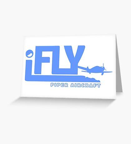 iFLY Piper Aircraft Greeting Card