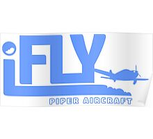 iFLY Piper Aircraft Poster