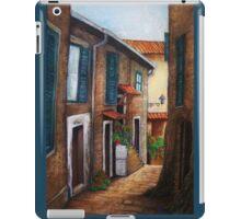 Italian afternoon iPad Case/Skin