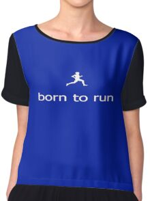 Fitness Running - Bruce Springsteen - Born To Run - T-Shirt Chiffon Top