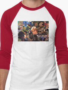 Manly Men For The Manliest  Men's Baseball ¾ T-Shirt