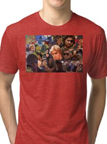Manly Men For The Manliest  Tri-blend T-Shirt