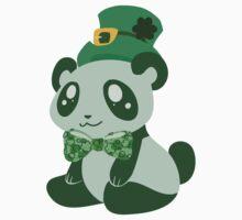 St. Patrick's Day Panda by SaradaBoru