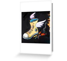 Kick It! Greeting Card