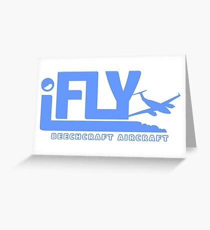 iFLY Beechcraft Aircraft Greeting Card
