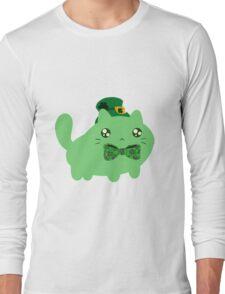 Clover Kitty Long Sleeve T-Shirt
