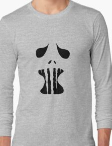 Spooky Face 1  Long Sleeve T-Shirt